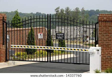 Security Gate Stock Images Royalty Free Images Amp Vectors