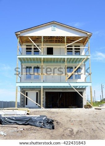 New Home Construction at Florida. USA for sale