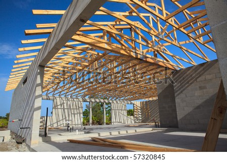 Roof Trusses Stock Images Royalty Free Images Amp Vectors