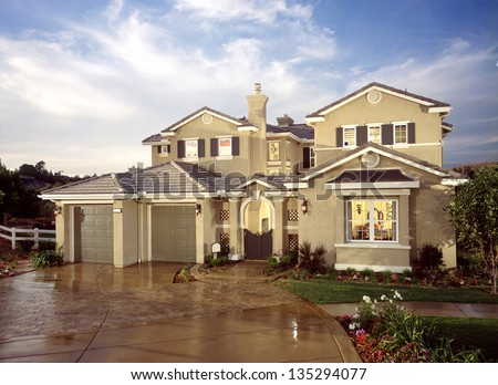 House Exterior Stock Images, Royalty-Free Images & Vectors ...