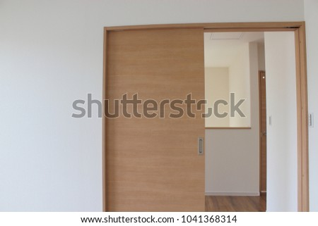 New housing door