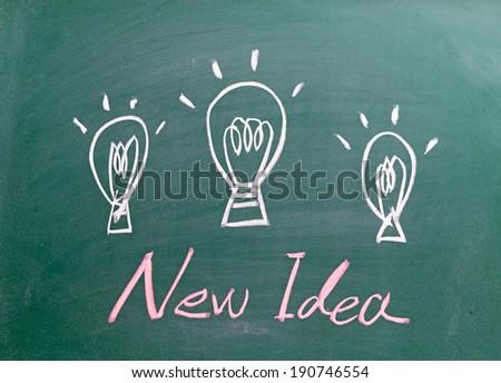 New Idea  - stock photo