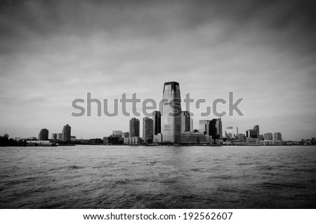 New Jersey Skyline from New York City