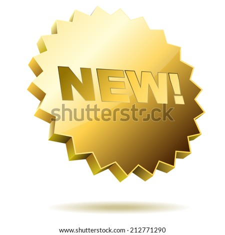 New label icon isolated on white background. - stock photo