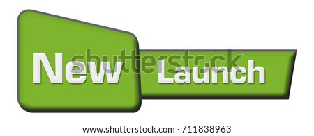 New Launch Green Triangle Horizontal