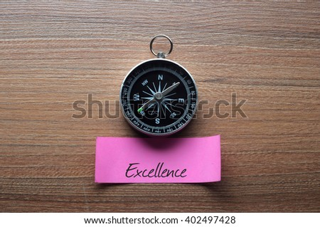 New Life : Motivation advice handwriting on label with compass - stock photo