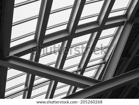 New modern architecture abstract