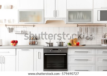 New modern kitchen interior