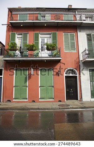 New Orleans, French Quarter and architecture, Louisiana, USA