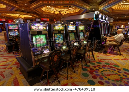 NEW ORLEANS, LOUISIANA, May 5, 2015 : With more than 1800 slot machines, Casino of New Orleans offers gamblers an endless array of options to try their luck.