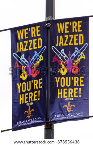 NEW ORLEANS, LOUISIANA USA - JULY 17, 2013: historic building in the French Quarter in New Orleans, USA. Tourism provides a large source of revenue after the 2005 devastation of Hurricane Katrina. - stock photo