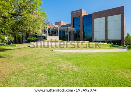 NEW ORLEANS, LOUISIANA USA - MAY 4,2014: Loyola University, founded in 1904, is a private research Jesuit university located in New Orleans.