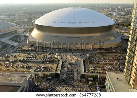 New orleans saints stock images royalty free images for Mercedes benz superdome parking pass
