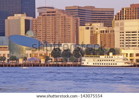 New Orleans Skyline, Louisiana - stock photo