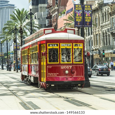how to use new orleans streetcar