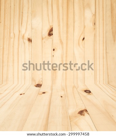 New pine wooden wall texture for background