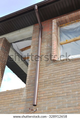 Downspout Stock Photos Images Amp Pictures Shutterstock