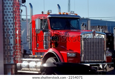 New Red Truck
