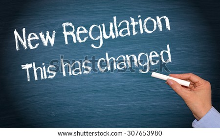 New Regulation with Changes