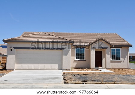 New Residential House - stock photo