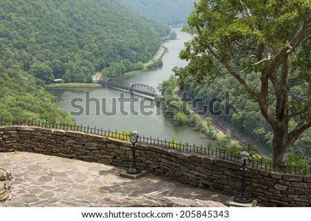 New River Gorge Scenic Overlook
