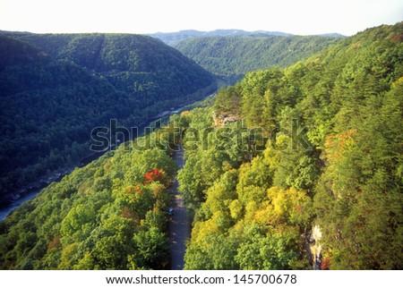 New River Gorge, WV - stock photo
