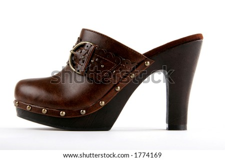 new-style high heel clog