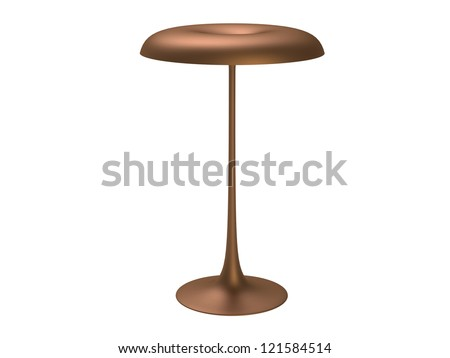 New Style Lamp isolated on a white background