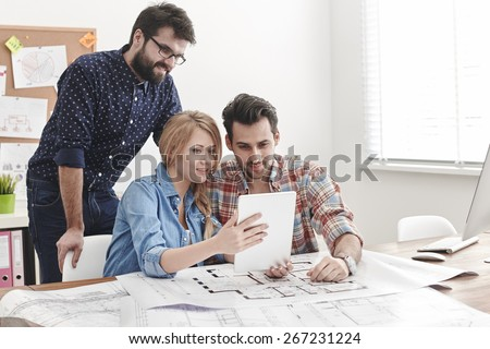 New technologies in business are necessary - stock photo