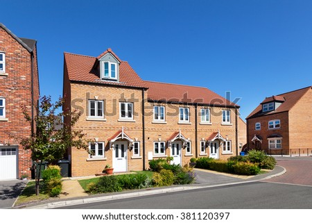 Terraced houses stock images royalty free images for Whats a terraced house