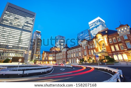 New Tokyo Station Renovated 2013