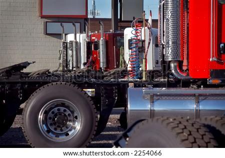 New Truck Fleet - stock photo