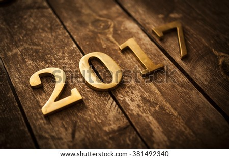 New Year - stock photo