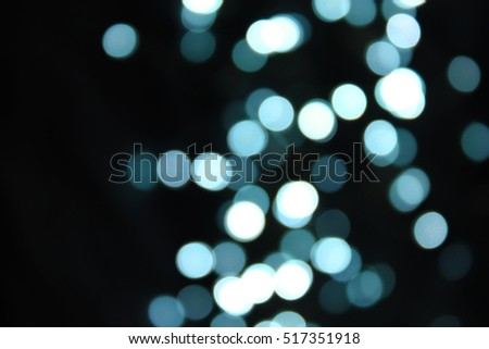 New Year, Christmas background, bokeh light.