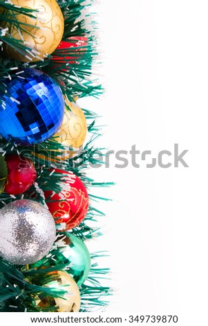 new year Christmas decorations