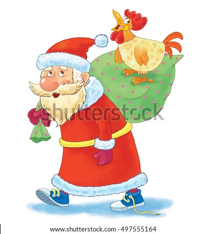 Superb Funny Merry Christmas And Happy New Year 2016 Santa Claus Messages