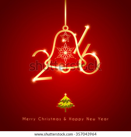 New Year Christmas Holidays Celebration Background - stock photo
