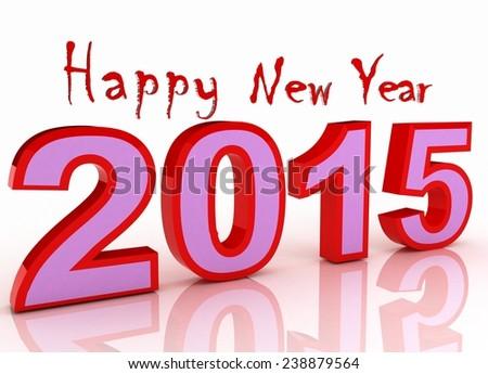 New year, Closeup on 2015, cristmas  - stock photo