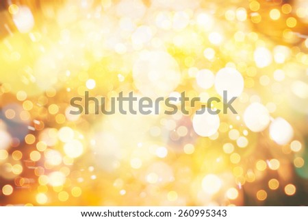 New Year colorful bokeh background
