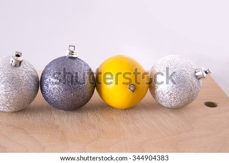 New year decoration, preparation for Christmas