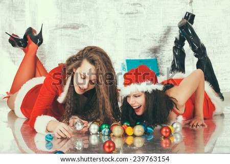 New Year Joy - stock photo