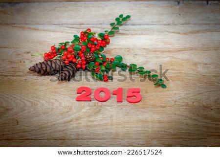 New Year's decoration  - stock photo