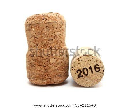 New Year's Eve/Champagne and wine corks new year's 2016