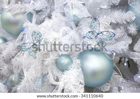 New Year's ornament of a fur-tree