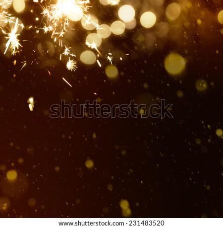 new years background - stock photo