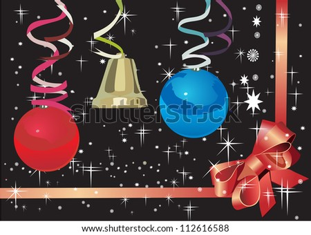 New Years card 2013 - stock photo