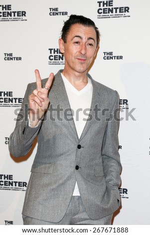 NEW YORK-APR 2: Actor Alan Cumming attends the 2015 Center Dinner at Cipriani Wall Street on April 2, 2015 in New York City. - stock photo
