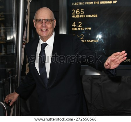 NEW YORK-APR 21: Actor Jeffrey Tambor attends the 2015 Time 100 Gala at Frederick P. Rose Hall, Jazz at Lincoln Center on April 21, 2015 in New York City. - stock photo