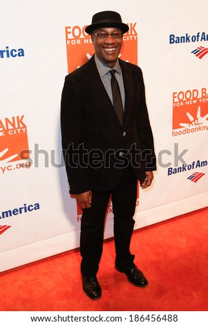 NEW YORK-APR 9: Actor Joe Morgan attends the Food Bank for New York City's Can Do Awards Dinner Gala at Cipriani Wall Street on April 9, 2014 in New York City. - stock photo