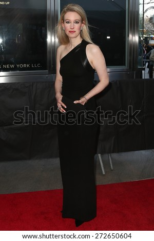 NEW YORK-APR 21: CEO/founder of Theranos Elizabeth Holmes attends the 2015 Time 100 Gala at Frederick P. Rose Hall, Jazz at Lincoln Center on April 21, 2015 in New York City. - stock photo